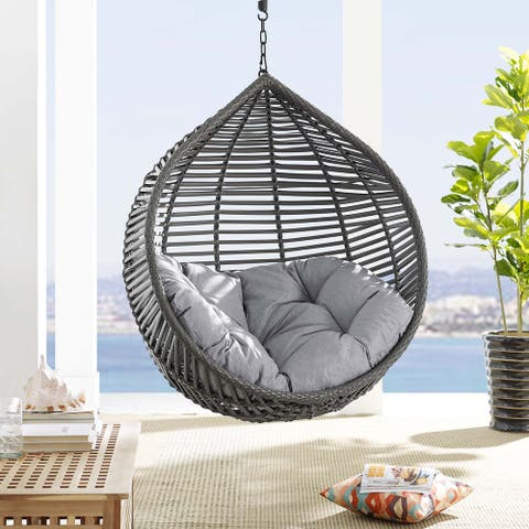Garner Teardrop Outdoor Patio Swing Chair Without Stand