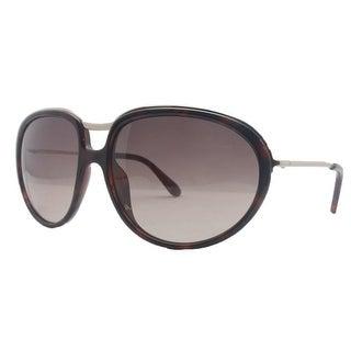 Tom Ford TF 281 52F Faye Havana/ Rose Gold Full Rim Oval Sunglasses