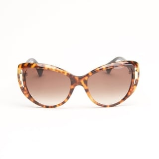 Havana Black Cat Eye Sunglasses