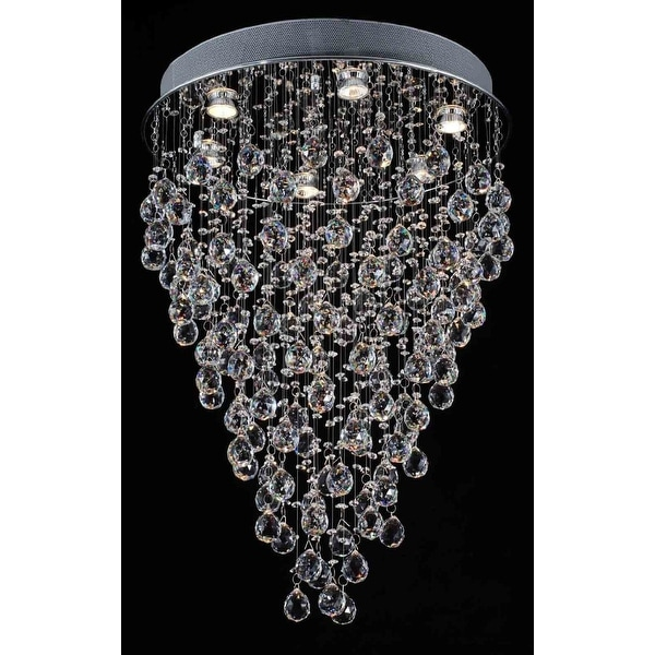 ModernChandelier Lighting *Rain Drop* Chandelier Lighting With Crystal Balls