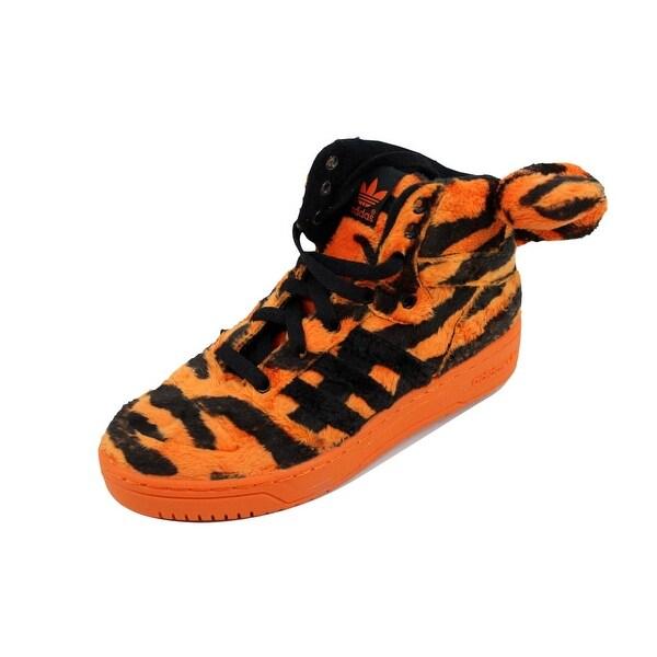 Adidas Men's Jeremy Scott Tiger Orangle/Black-White M29010 Size 4.5