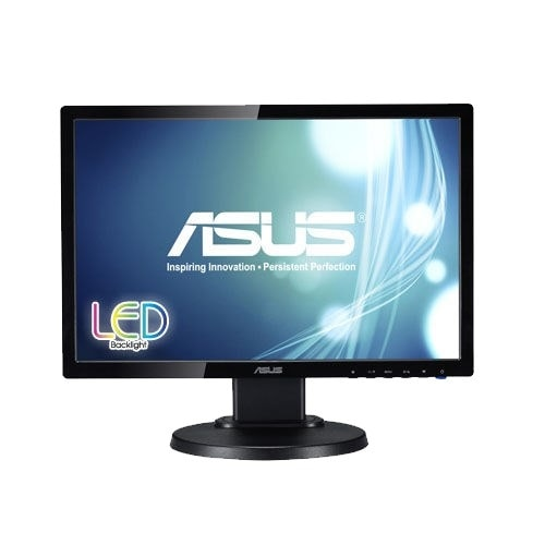 "Refurbished - ASUS VE198TL 19"" Monitor 1440x900 16:10 0.2835mm 250 cd/㎡ 10000000:1 5ms 16.7M"