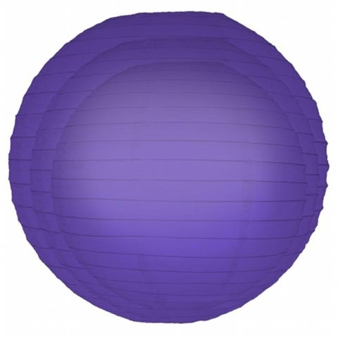 JH Specialties Inc. 72306 Paper Lanterns- Multi Pack Purple- 6 Count