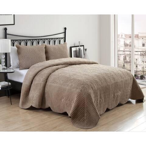 VCNY Home Julie Plush Bedspread