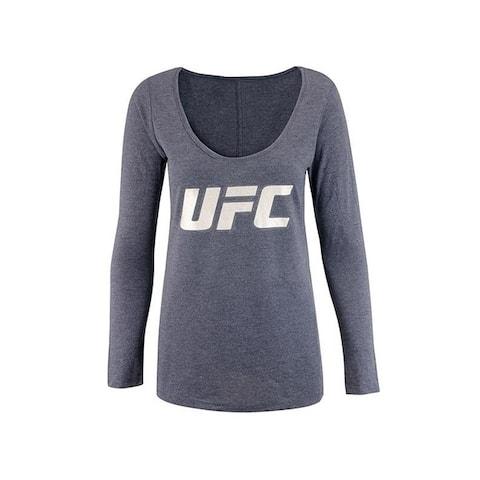 Ufc Womens Foil Logo Graphic T-Shirt