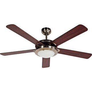 "Design House 154336 Eastport 52"" 5 Blade Hanging Ceiling Fan"