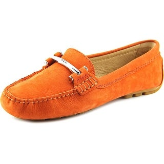 Lauren Ralph Lauren Caliana Round Toe Leather Loafer