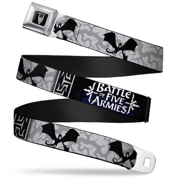Smaug Icon Full Color Black Gray Battle Of The Five Armies Smaug Fire Seatbelt Belt