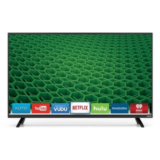 "VIZIO D48-D0 D-Series 48"" Class Full Array LED Smart TV (Black) (Refurbished) - Black"