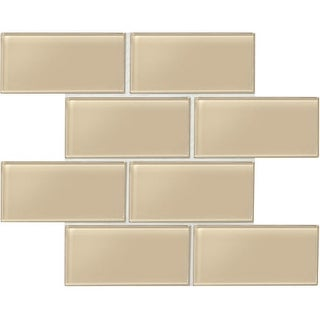 """Daltile AM36L Amity - 6"""" x 3"""" Subway Wall Tile - Smooth Glass Visual - Sold by C"""