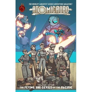 Atomic Robo Comic Book Vol. 7: Flying She-Devils of the Pacific|https://ak1.ostkcdn.com/images/products/is/images/direct/a48dcc278674609e222c854c0afb398f0d3d8c36/Atomic-Robo-Comic-Book-Vol.-7%3A-Flying-She-Devils-of-the-Pacific.jpg?impolicy=medium