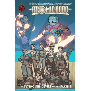 Atomic Robo Comic Book Vol. 7: Flying She-Devils of the Pacific - multi