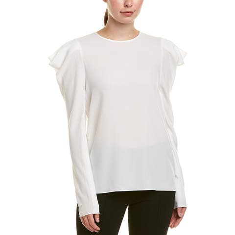 Tibi Savana Crepe Top
