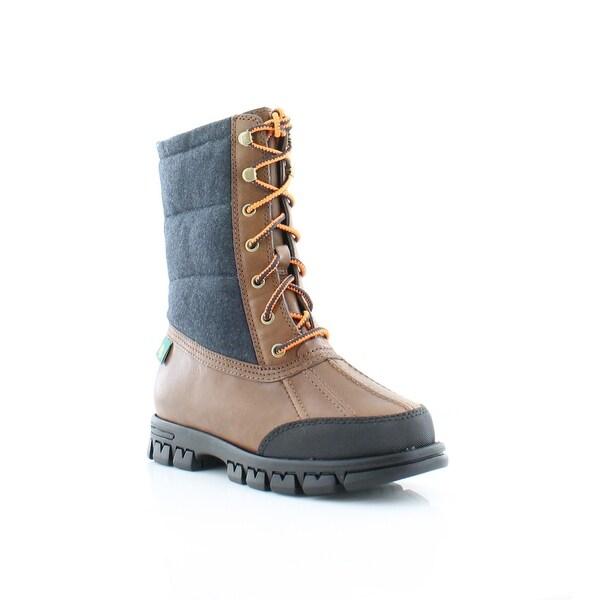 Ralph Lauren Quinlyn Women's Boots TN/ NVY