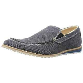 GBX Mens Flix Loafers Canvas Slip On