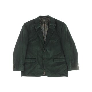 Lauren Ralph Lauren Mens Sportcoat Classic Fit Velvet - 44s