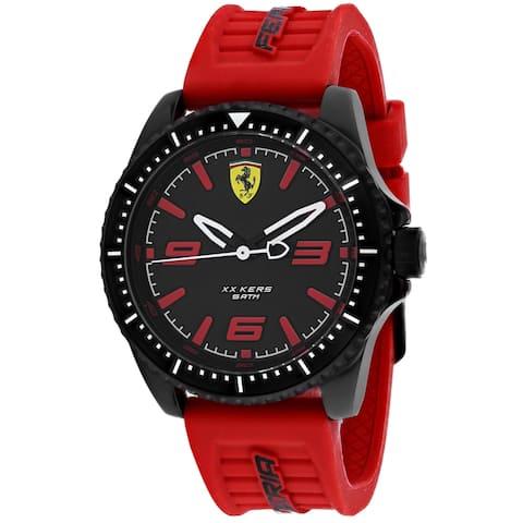 Ferrari Men's XX Kers Black Dial Watch - 830498 - One Size