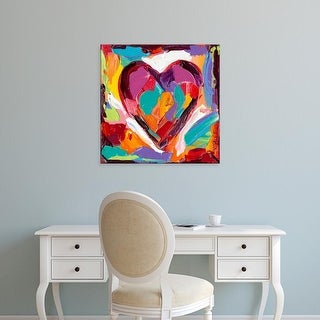 Easy Art Prints Carolee Vitaletti's 'Colorful Expressions IV' Premium Canvas Art
