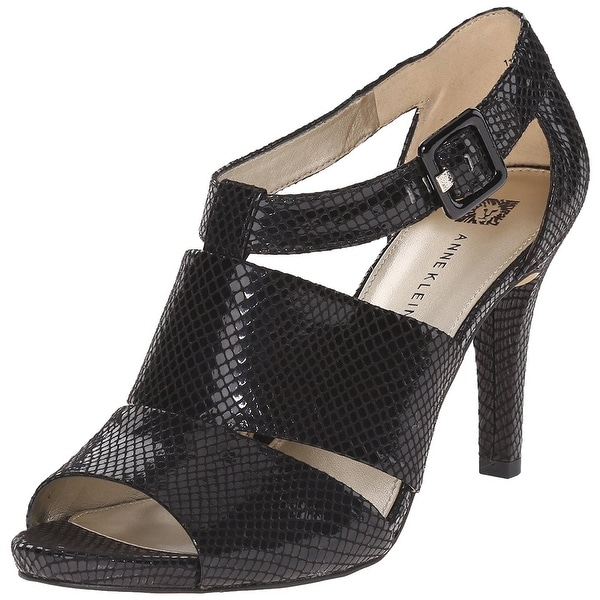 Anne Klein Sport Women's Ouray Fabric Heeled Sandal