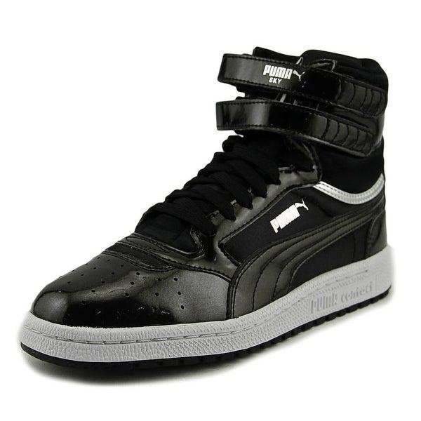 Puma Sky II Hi Explosive Women Round Toe Synthetic Black Sneakers