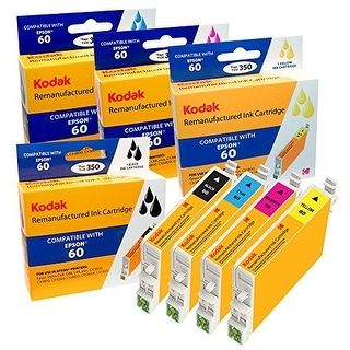 Kodak Remanufactured Ink Cartridge Compatible With Epson 48 / T0481 (T048120) High-Yield Black