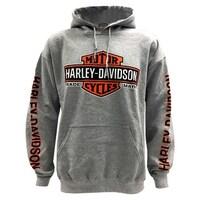 7b7ec615f Harley-Davidson Men's Bar & Shield Logo Pullover Hooded Sweatshirt, ...