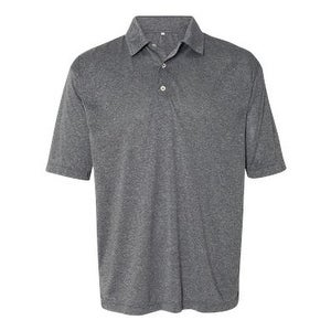 FeatherLite Heathered Sport Shirt - Heather Steel - 2XL