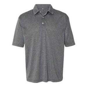 FeatherLite Heathered Sport Shirt - Heather Steel - 3XL