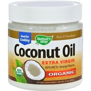 Natures Way EfaGold Coconut Oil - 16 fl oz