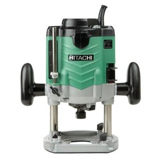 Hitachi M12VE Variable Speed Plunge Router, 3-1/4 Peak HP