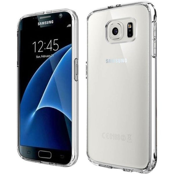 Insten Clear Hard Snap-on Dual Layer Hybrid Crystal Case Cover For Samsung Galaxy S7