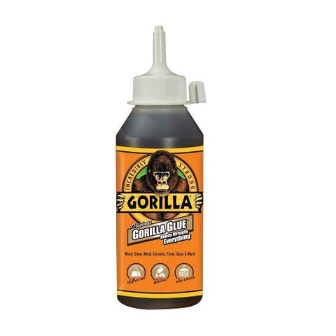 Gorilla Glue 5000806 Original Incredibly Strong Waterproof Adhesive, 8 Oz