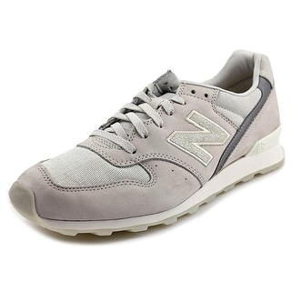 New Balance WL696 Round Toe Suede Sneakers