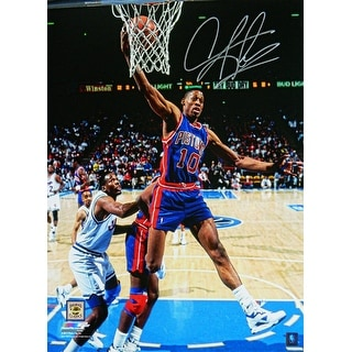 Dennis Rodman Detroit Pistons Rebound Action 16x20 Photo