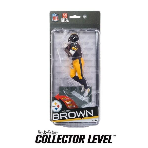 0eaec2d77 Shop Pittsburgh Steelers McFarlane NFL S37 Figure: Antonio Brown (Black  Uniform) - multi - Free Shipping Today - Overstock - 13671384