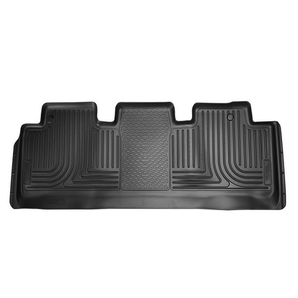 Husky Weatherbeater 2011 2016 Honda Odyssey 2nd Row Black Rear Floor Mats /Liners