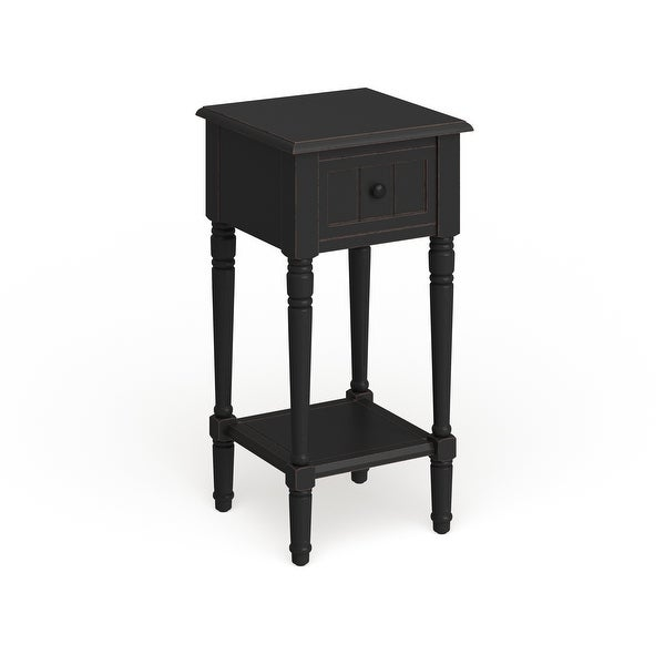 The Gray Barn Robert One Drawer Square Accent Table. Opens flyout.