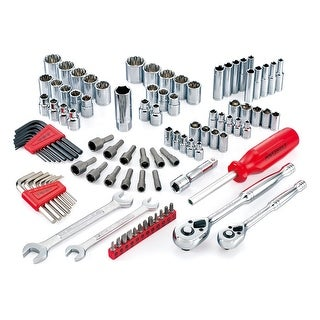 Powerbuilt 101pc SAE & Metric Socket Drive Mechanic Tool Set - 640744