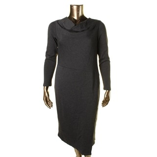 Lafayette 148 New York Womens Wool Heathered Wear to Work Dress - 14
