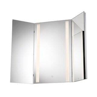 """Eurofase Lighting 34000 31-1/2"""" x 31-1/2"""" Rectangular Flat Lighted Vanity Mirror - N/A"""