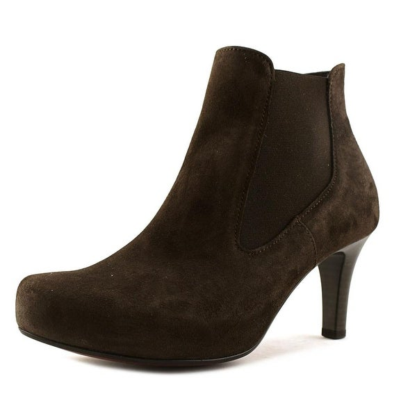 Gabor 51.731 Women Round Toe Suede Brown Bootie