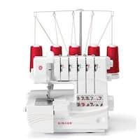Singer 14T968dc Professional 5 Thread Serger Overlock Sewing Machine White