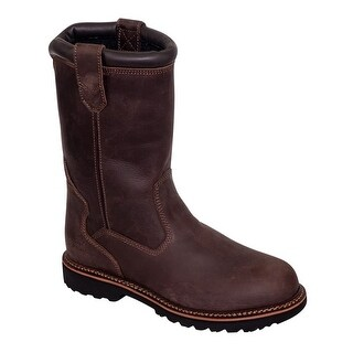 """Thorogood Work Boots Adult V Series 11"""" Safety Toe EH Brown"""