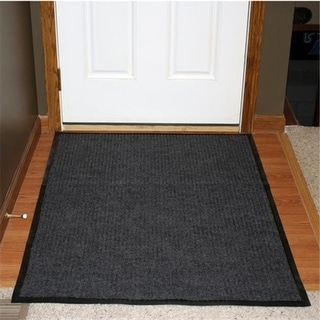 Durable Corporation 613S0046CH 4 ft. W x 6 ft. L Spectra Rib Entrance Mat in Charcoal