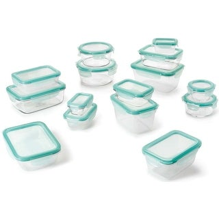 OXO Good Grips 30 Piece Smart Seal Leakproof Glass & Food Storage Container Set