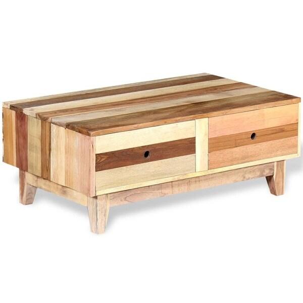 Solid Reclaimed Wood Coffee Table: Shop VidaXL Coffee Table Solid Reclaimed Wood