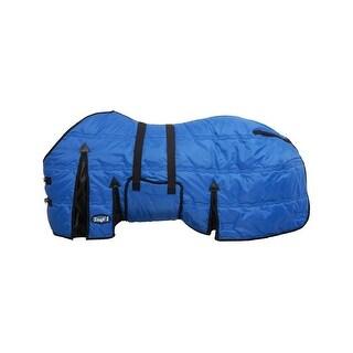 """Tough-1 Blanket 600D Adjustable Belly Wrap 84"""" Royal Blue"""