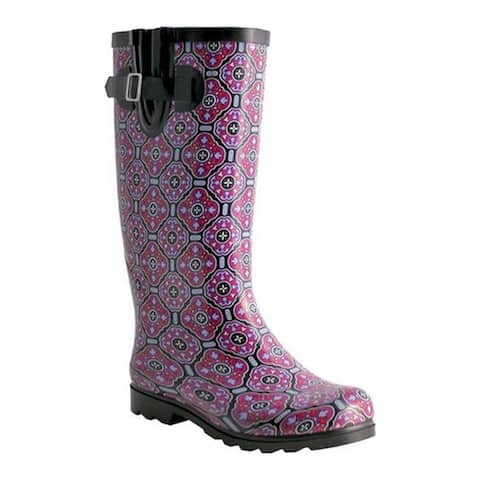 Nomad Women's Puddles Boot Black/Plum Tile