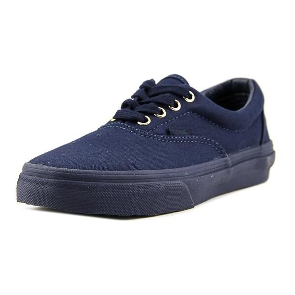 150789d718 Shop Vans Era Boy (Gold Mono) Dress Blue Athletic Shoes - Free ...