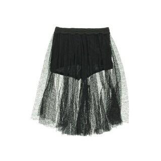Free People Womens Lace Culottes Dress Shorts - 4